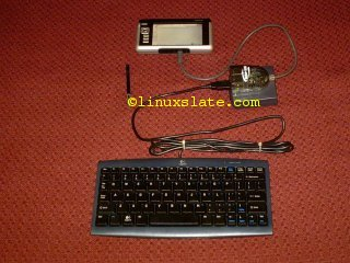 First Solution shown with Logitech PS2 Keyboard