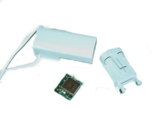 iPod Suffle1 battery extender disected