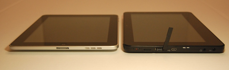 Ports on the G-Tabet vs those on the iPad