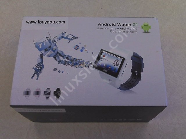 Z1 Android Watch Box Overview